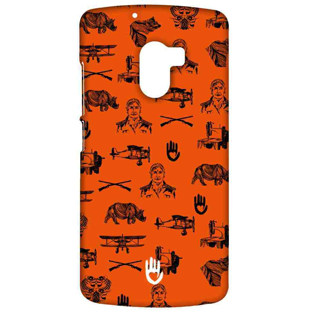 KR Orange Collage - Sublime Case for Lenovo K4 Note