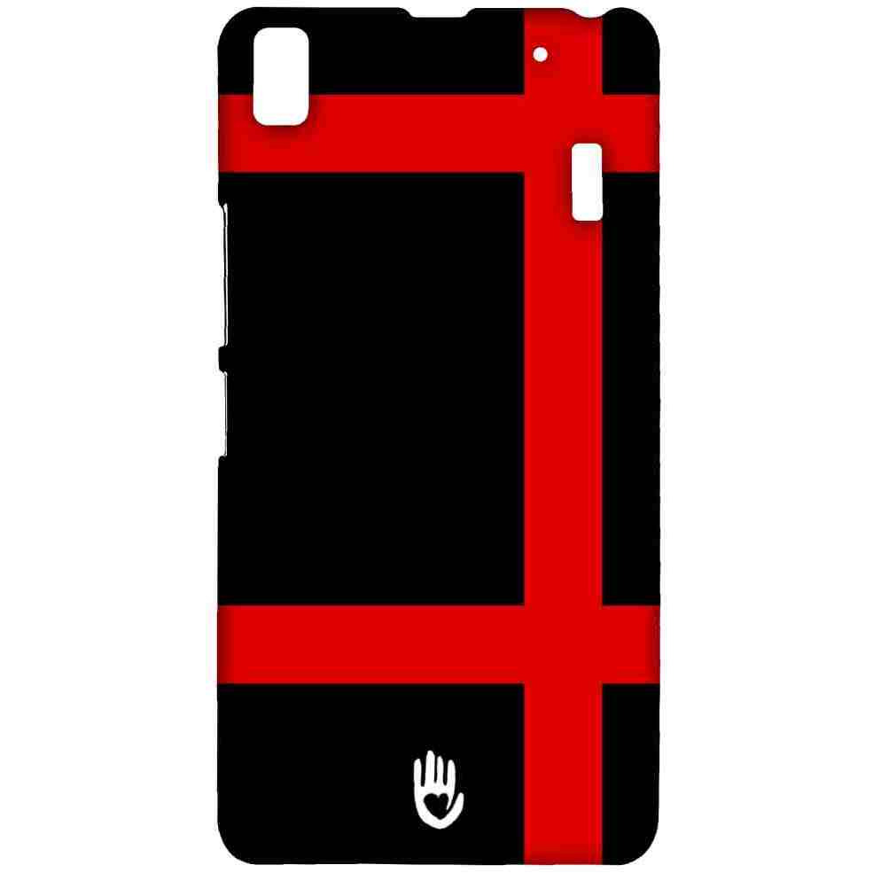 KR Red Checks - Sublime Case for Lenovo K3 Note