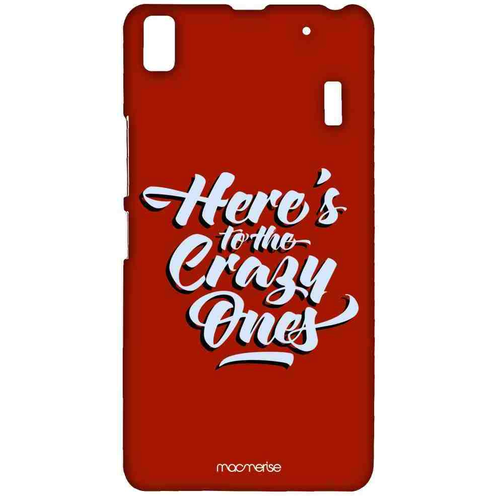 Heres to the Crazy Ones - Sublime Case for Lenovo K3 Note