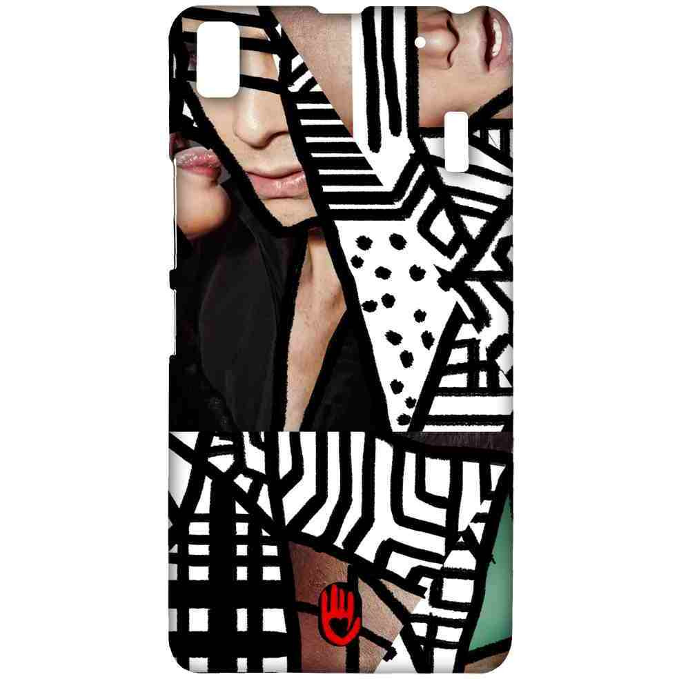 KR Black Abstract - Sublime Case for Lenovo A7000