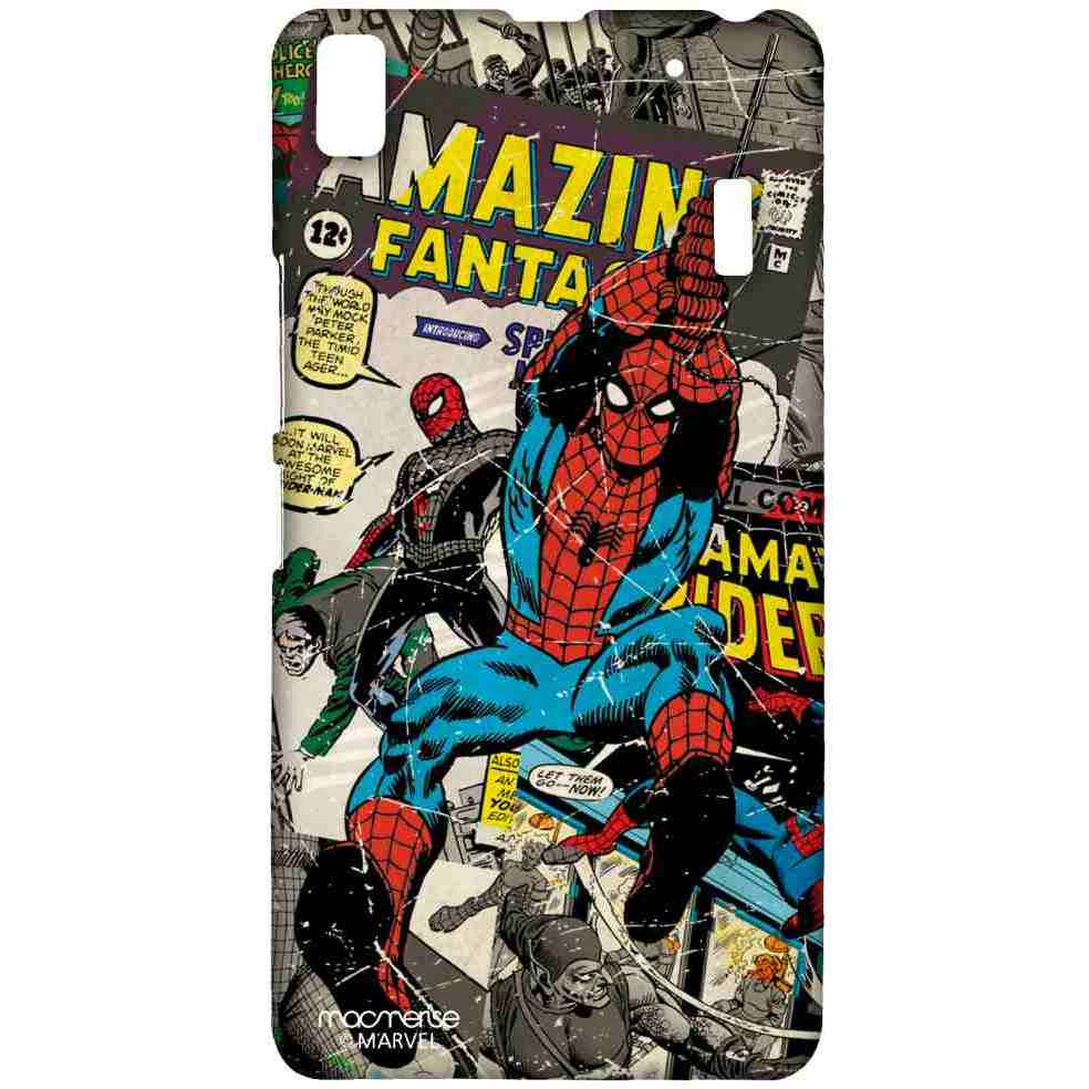 Comic Spidey - Sublime Case for Lenovo A7000