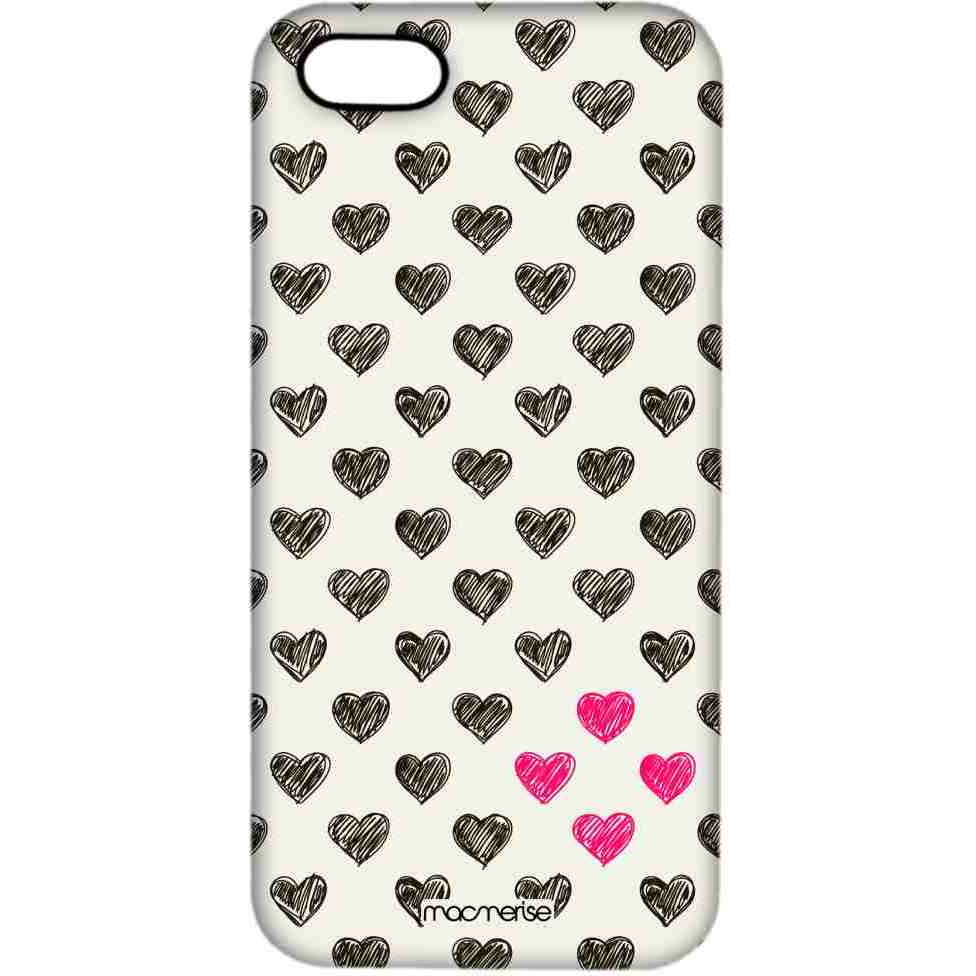 Sketchy Hearts - Pro Case for iPhone SE