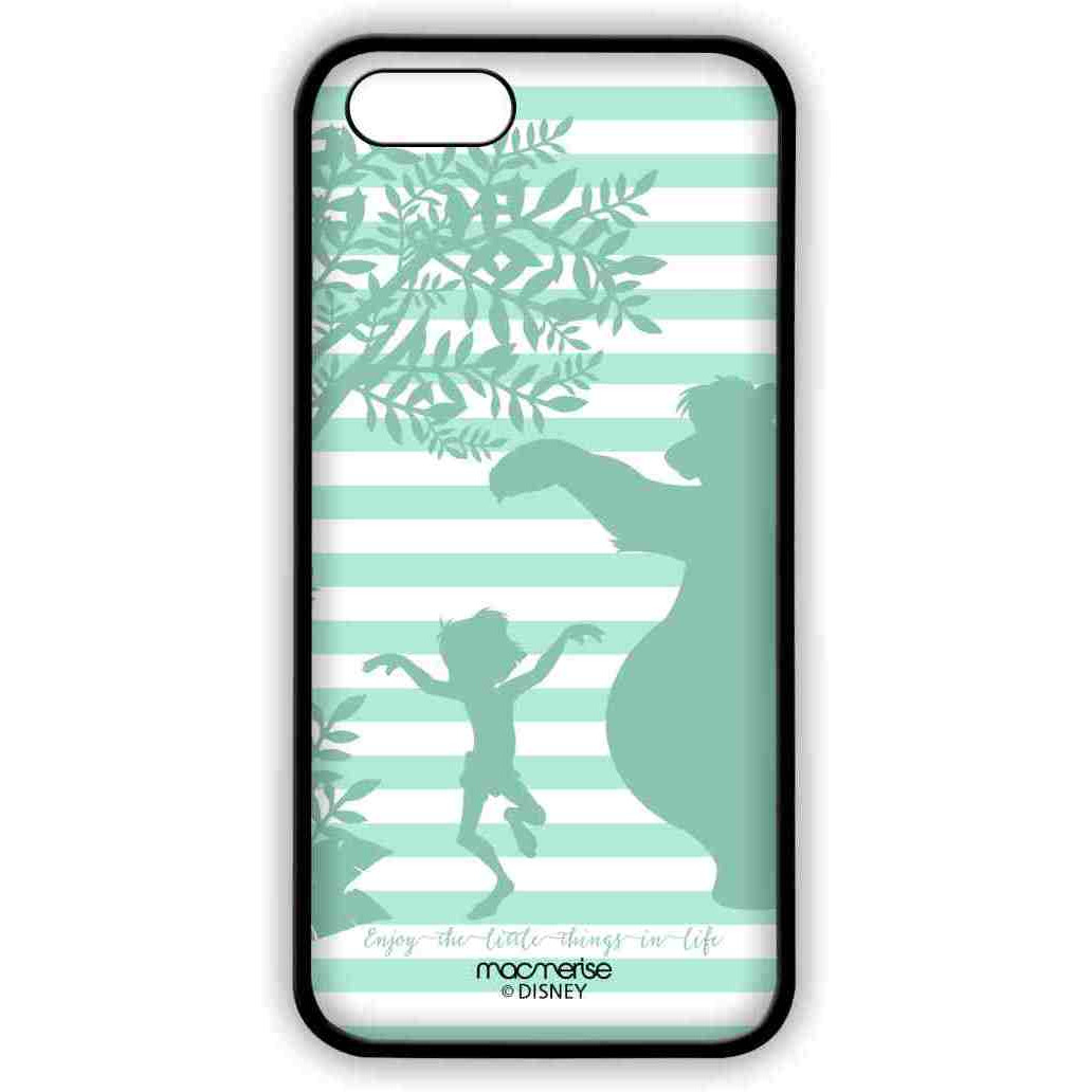 Mowgli and Baloo Stripes - Lite Case for iPhone SE