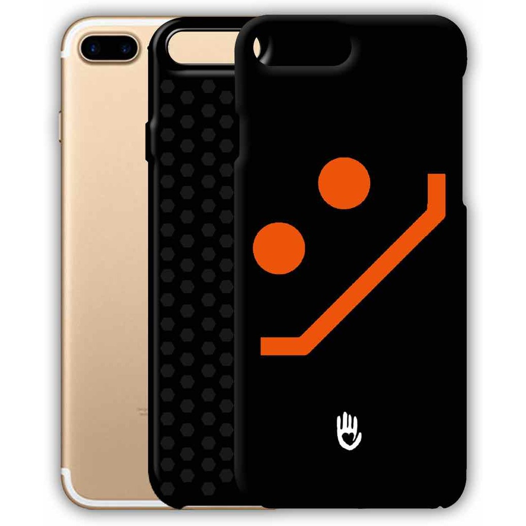KR Orange Smiley - Tough Case for iPhone 7