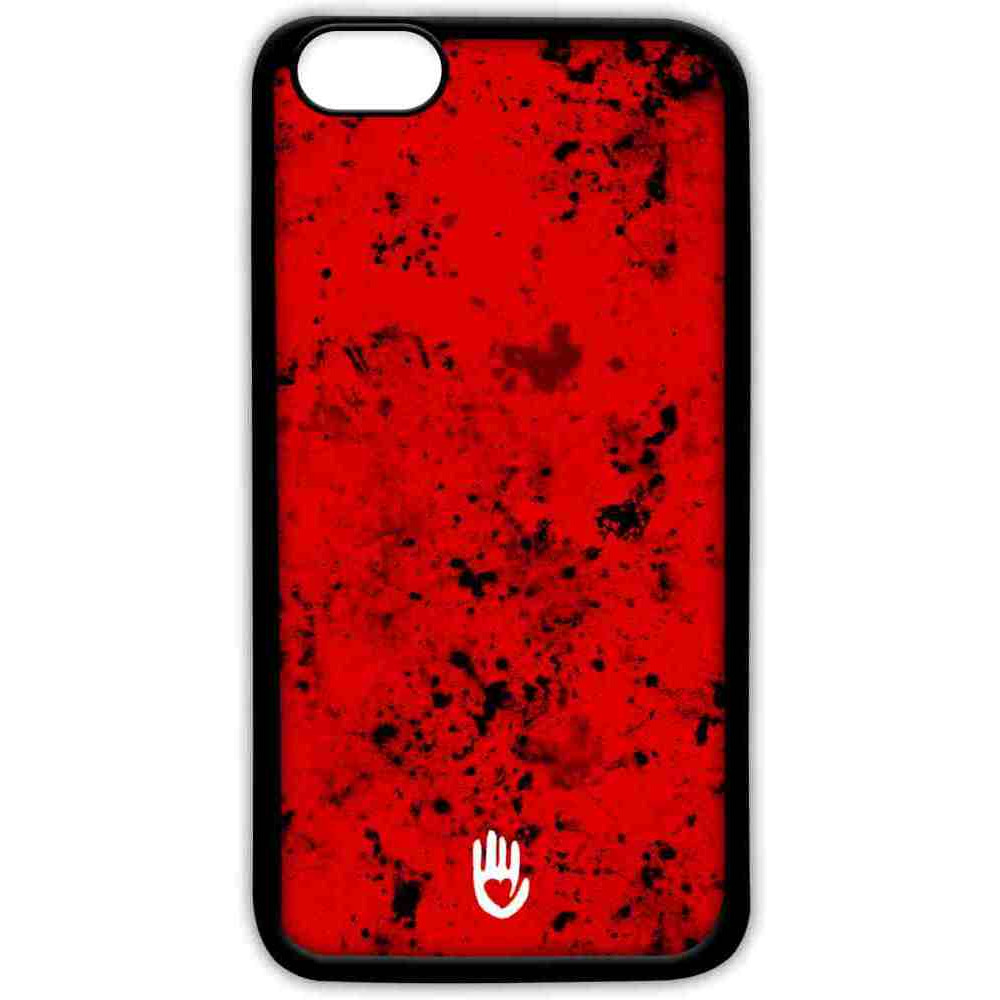 KR Red Blotch - Lite Case for iPhone 7