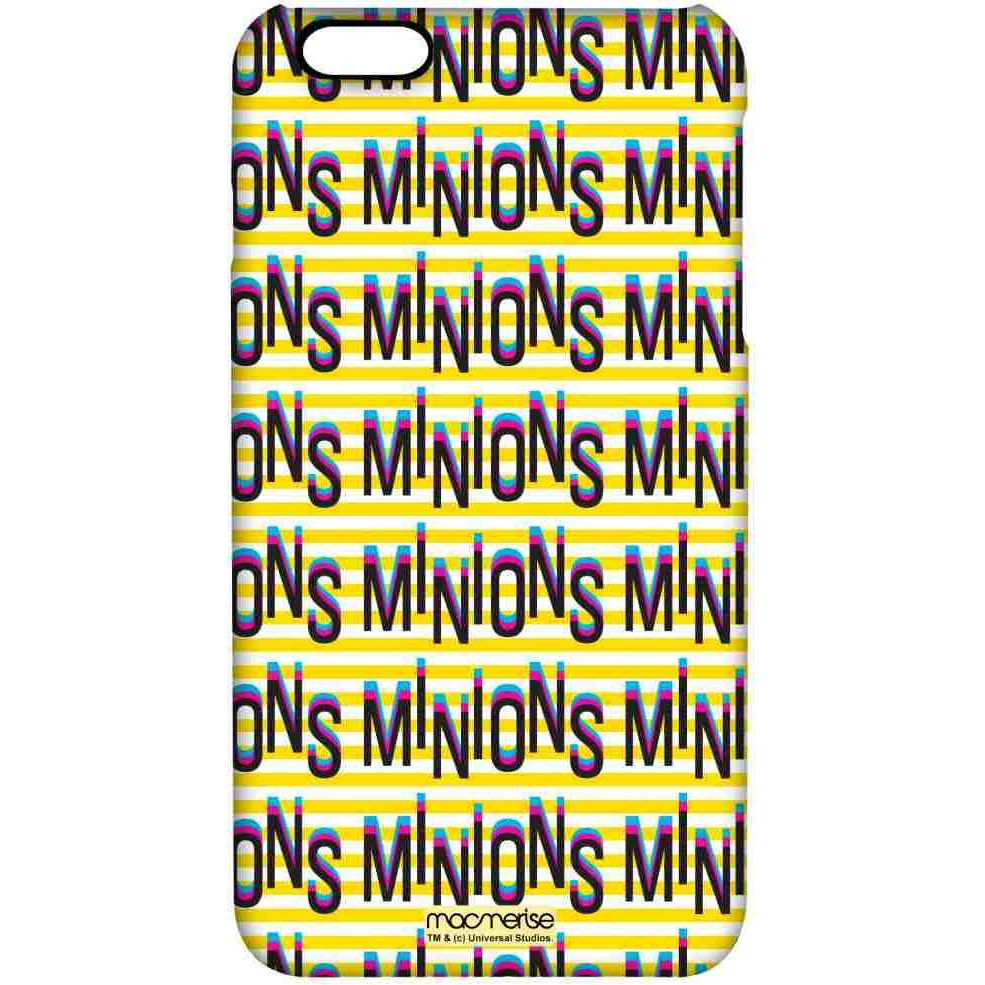 Minion Word Art - Pro Case for iPhone 6S Plus