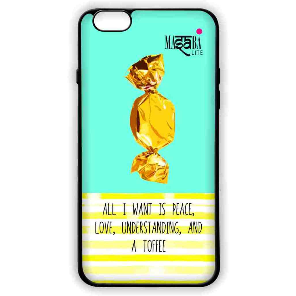 Masaba Peace Love Toffee - Lite Case for iPhone 6S Plus