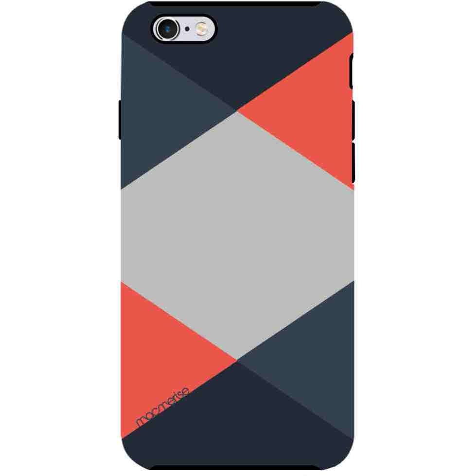Criss Cross Coral - Tough Case for iPhone 6S Plus
