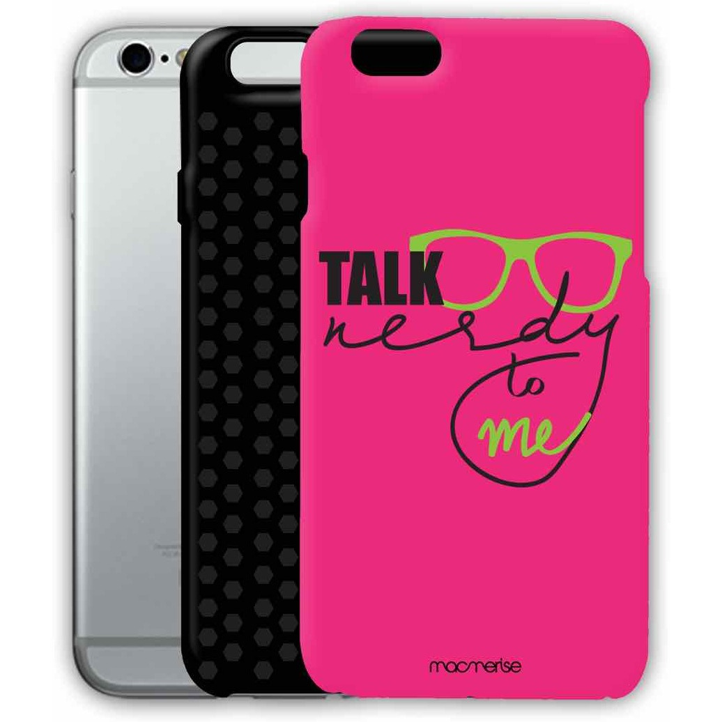 Nerd Talk Pink - Tough Case for iPhone 6S Plus
