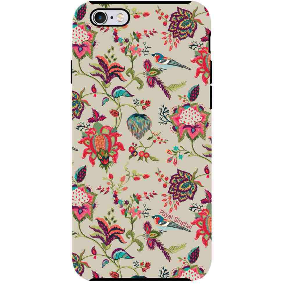 Payal Singhal Chidiya Beige - Tough Case for iPhone 6S Plus