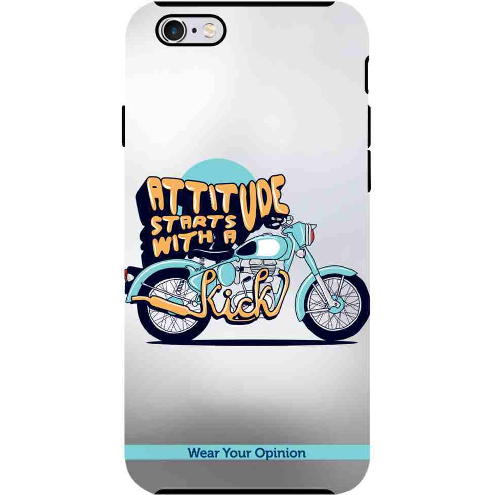 Attitude With Kick - Tough Case for iPhone 6S Plus