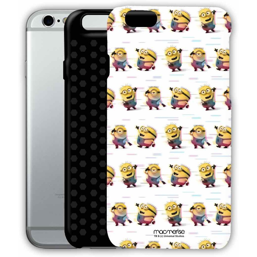 Groovy Minions White - Tough Case for iPhone 6S