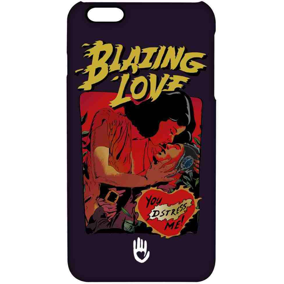 KR Blazing Love Purple - Pro Case for iPhone 6 Plus