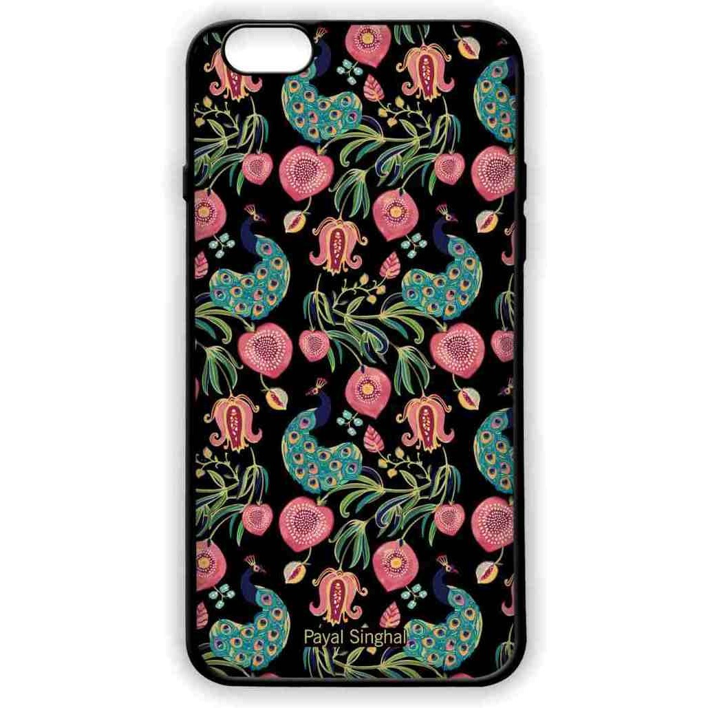 Payal Singhal Anaar and Mor Black - Lite Case for iPhone 6 Plus