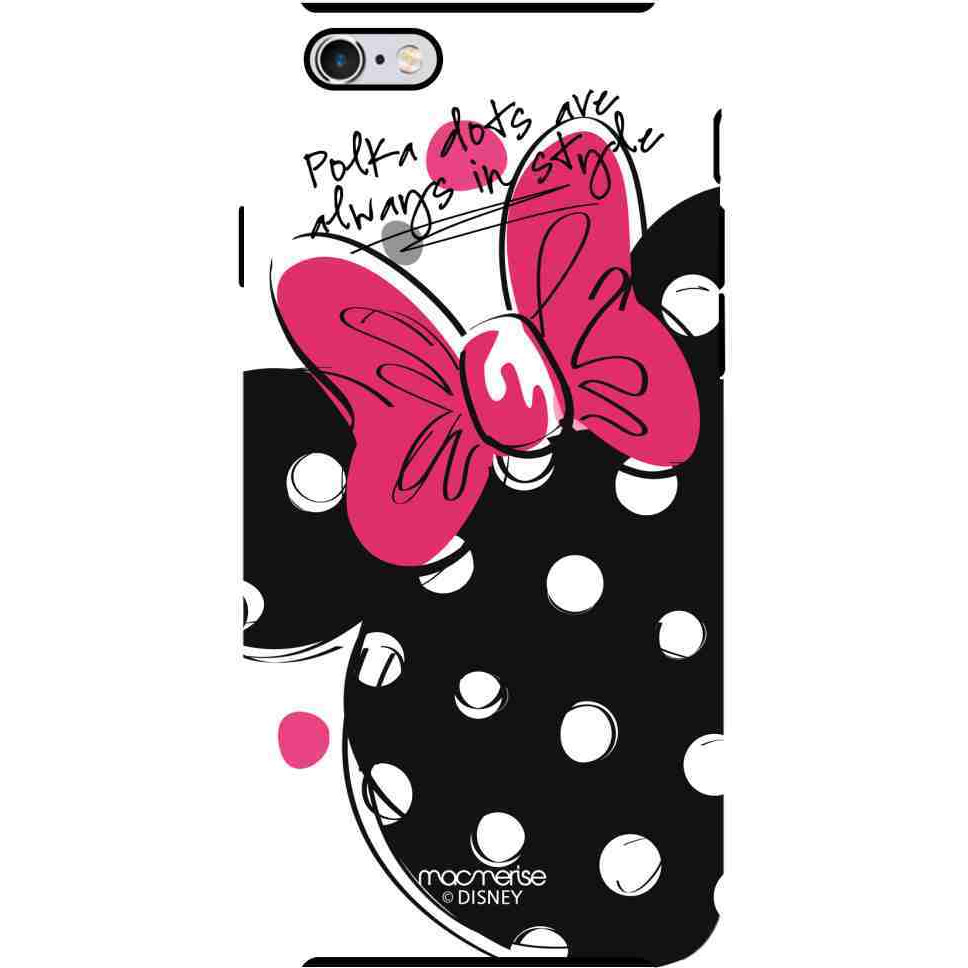 Polka Minnie - Tough Case for iPhone 6 Plus