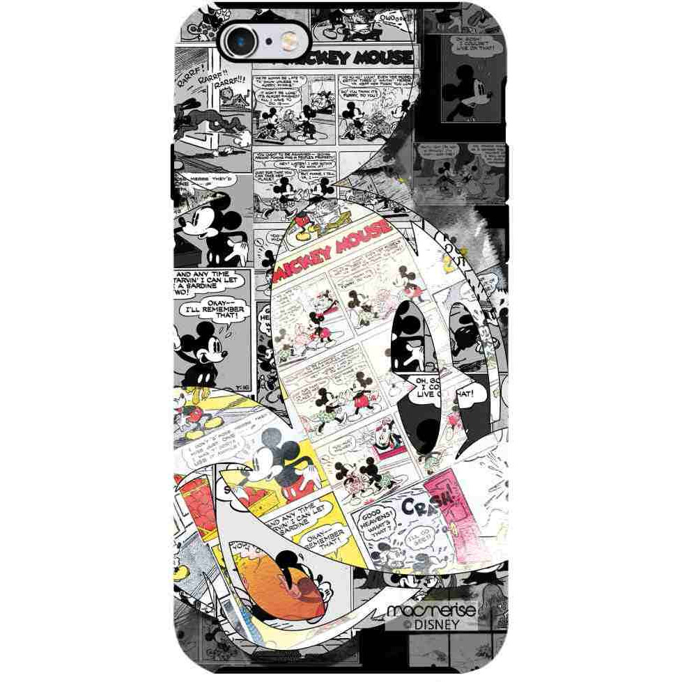 Mickey Newspaper Art - Tough Case for iPhone 6 Plus