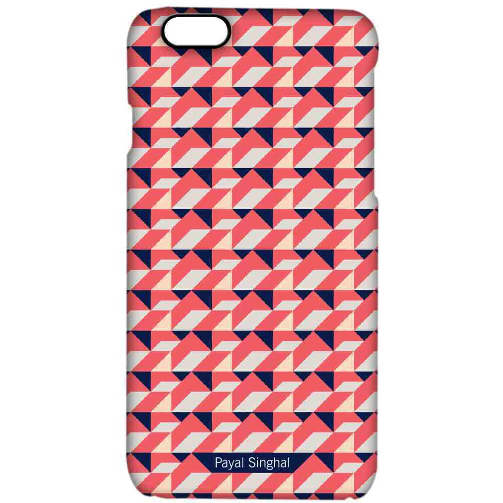 Payal Singhal Coral Navy - Pro Case for iPhone 6
