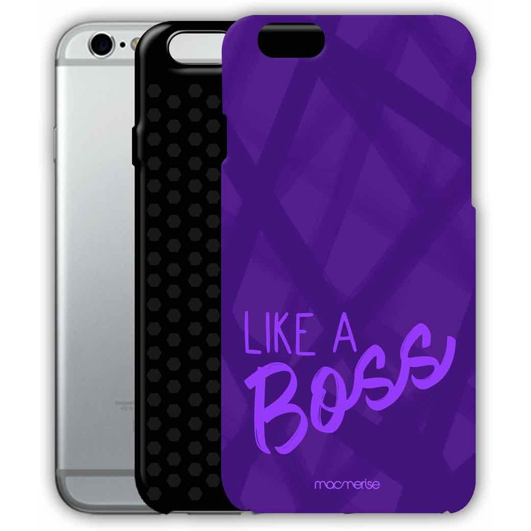 Like A Boss Purple - Tough Case for iPhone 6