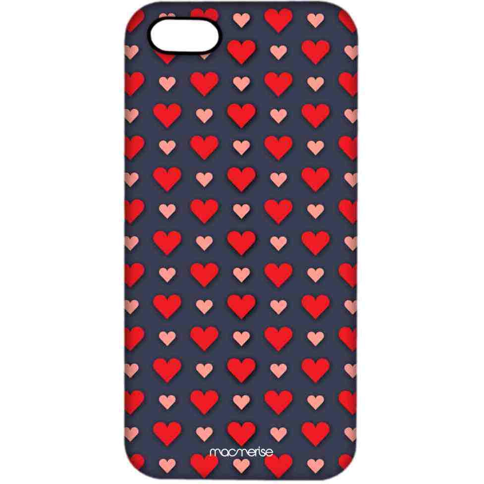 Polka Hearts - Pro Case for iPhone 5/5S