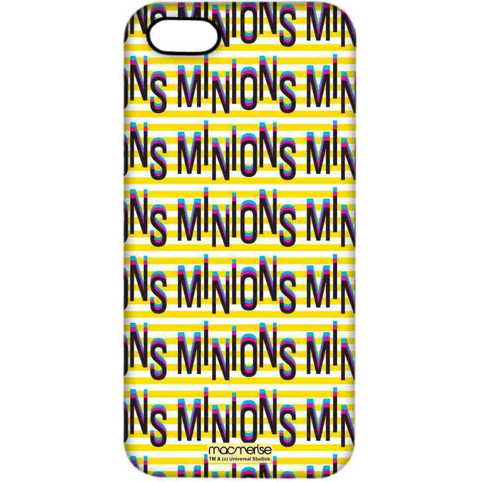 Minion Word Art - Pro Case for iPhone 5/5S