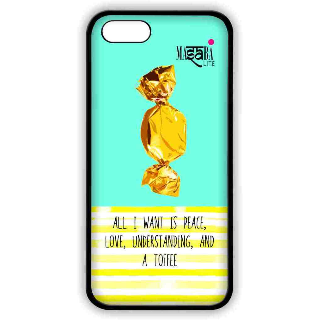 Masaba Peace Love Toffee - Lite Case for iPhone 5/5S