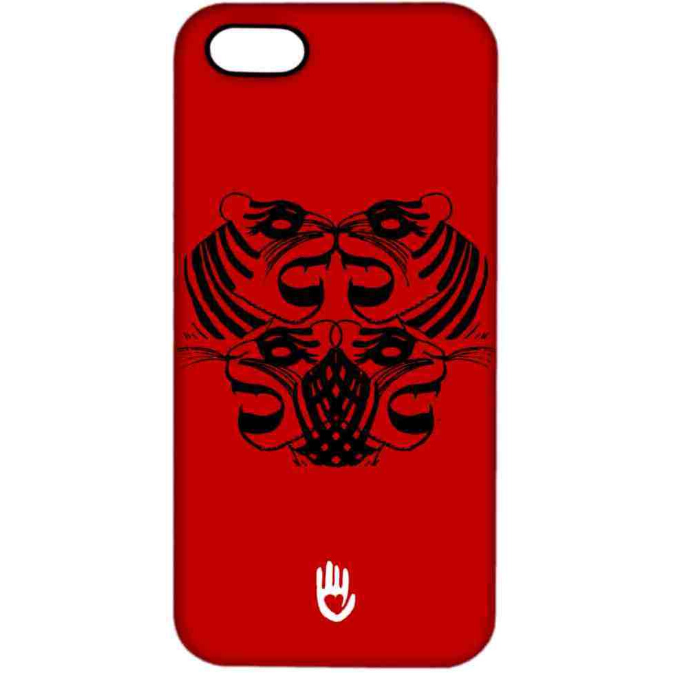KR Red Tiger - Sublime Case for iPhone 4/4S