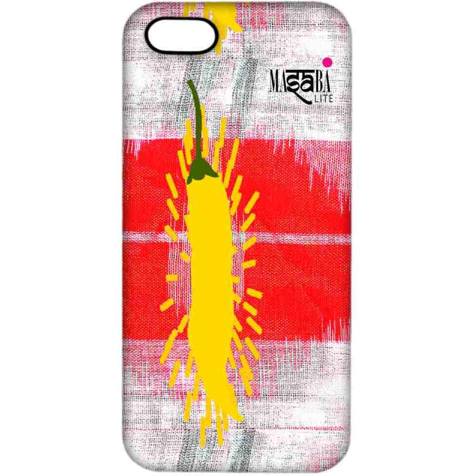 Masaba Yellow Chilli - Sublime Case for iPhone 4/4S