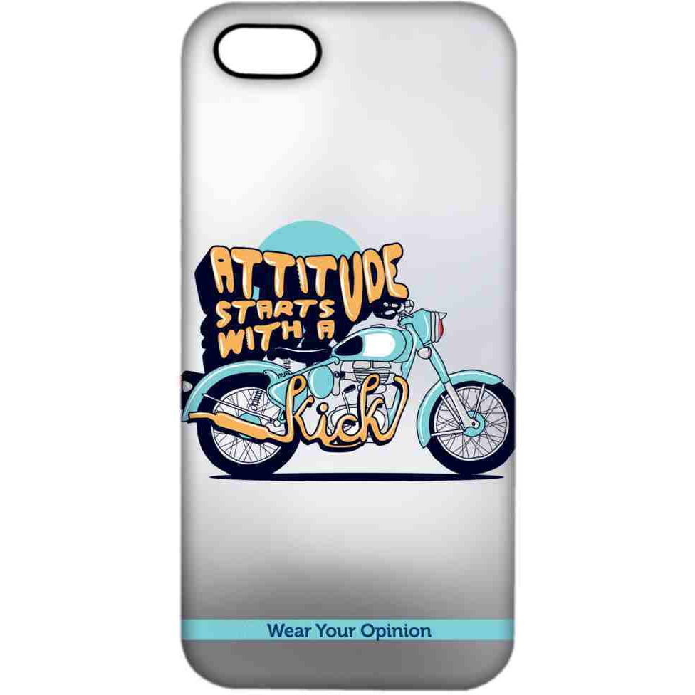 Attitude With Kick - Sublime Case for iPhone 4/4S