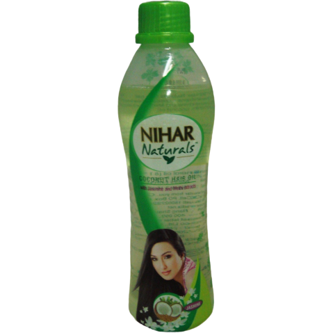 Nihar Naturals Coconut Hair Oil W/Jasmine & Methi Extracts - 100 ml