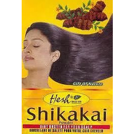 (5 Pack) Hesh Herbal Shikakai Powder Acacia Concinna - 100 Gm Each