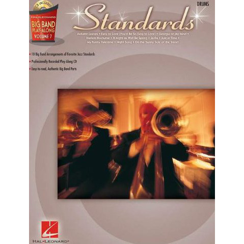 Standards - Drums: Big Band Play-Along Volume 7