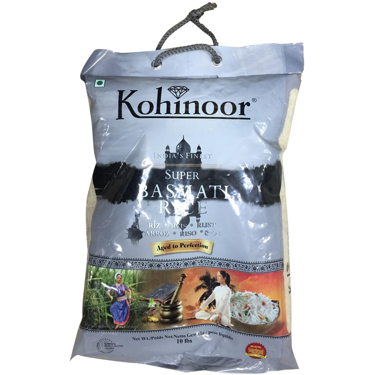 Kohinoor Indian Fashion N Beauty Brisbane: Buy Online Kohinoor Basmati Rice Silver 10 Lb From USA