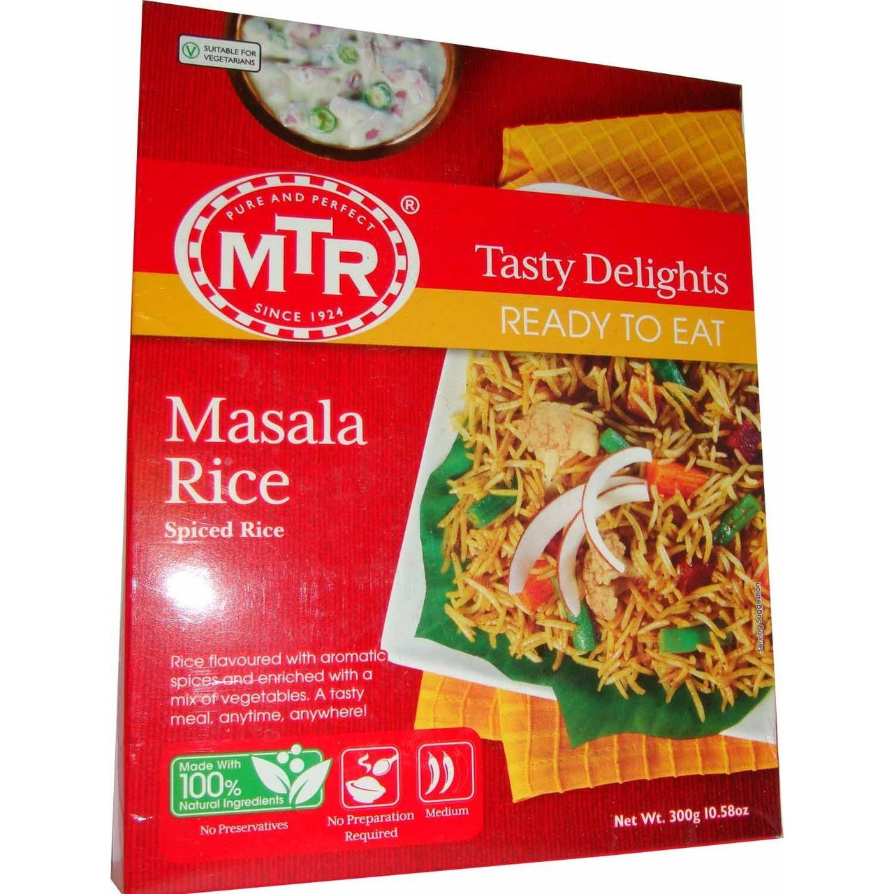 MTR Masala Rice (Ready-to-Eat) 250 gm