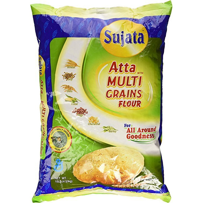 Sujata Multi Grains Wheat Flour Atta 4 lb