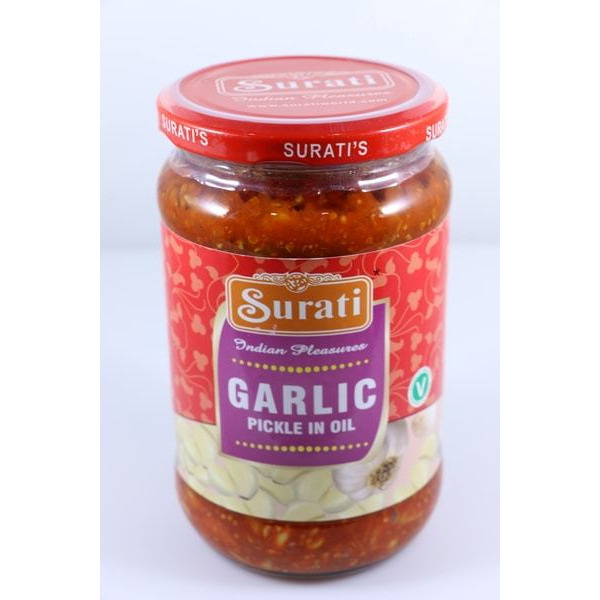 Surati Garlic Pickle In Oil 700 gm