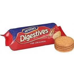 McVities Digestive Wheat Biscuits 250 gm