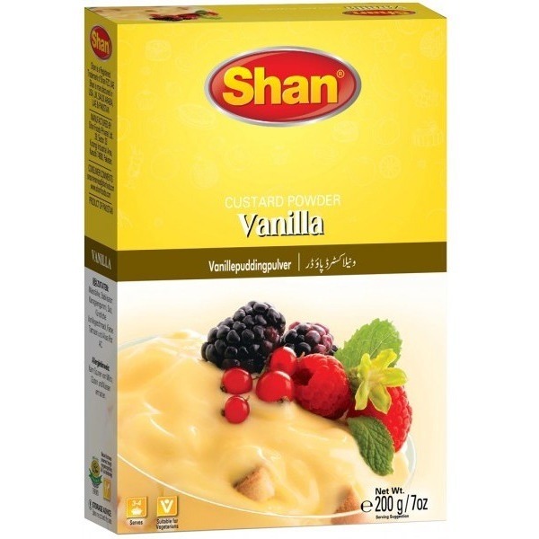 Shan Vanilla Custard Powder 200 gm