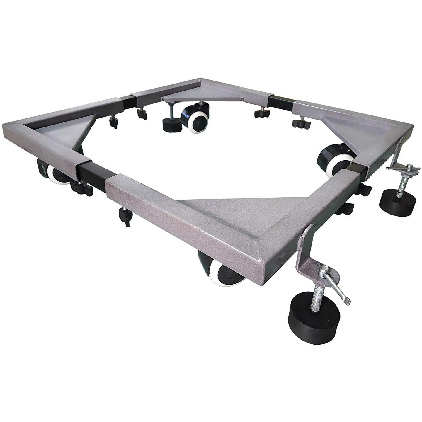 BTH Company Heavy Duty Universal Adjustable Base Moveable (Grey)