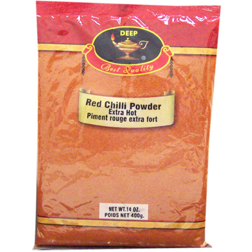 Deep Red Chilli Powder Extra Hot - 14 Oz