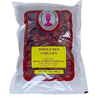 Laxmi Whole Red Chili - 400 Gm