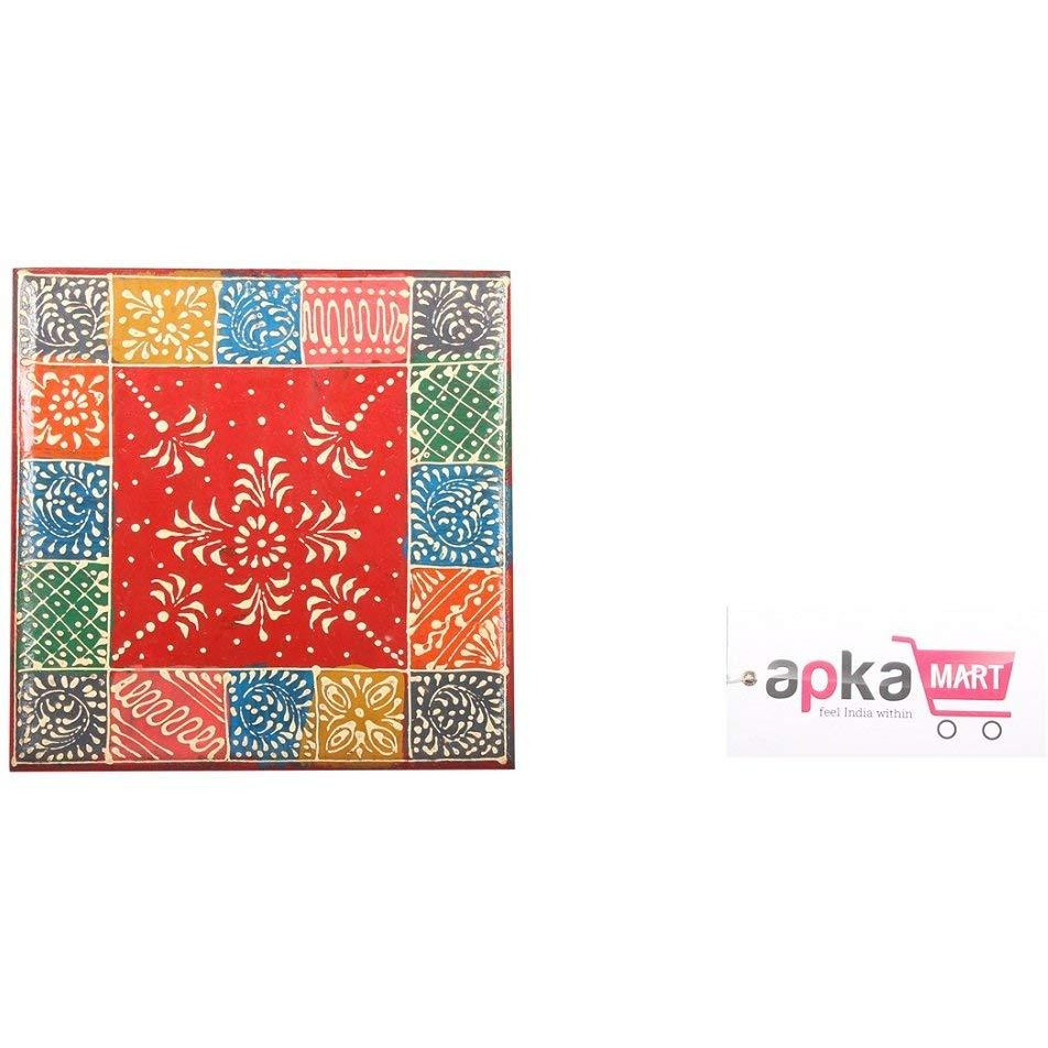 Multicoloured Wooden Chowki 10 In Religious Article All Festivals And Gifts