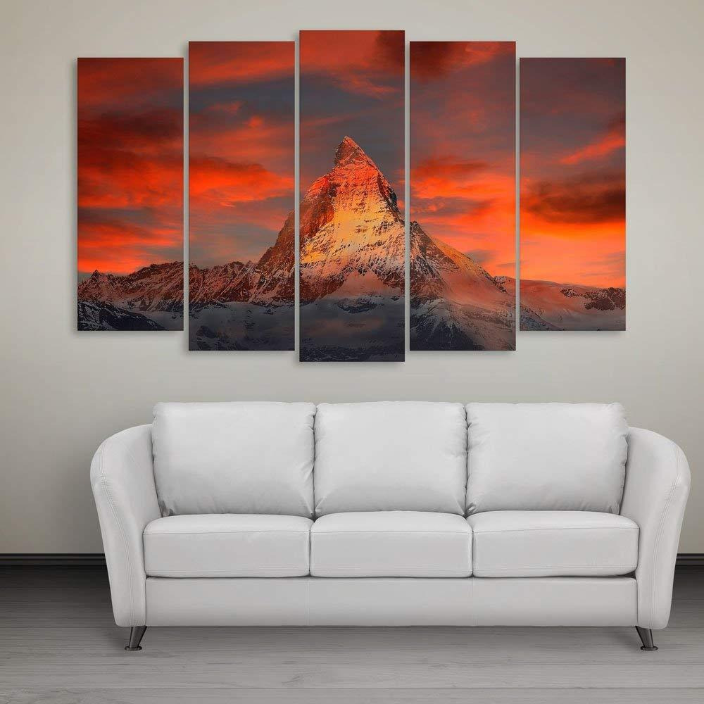 Online Inephos Multiple Frames Beautiful Mountain Wall Painting 150cm X 76cm Decoration Diwali Gifts Christmas From Usa