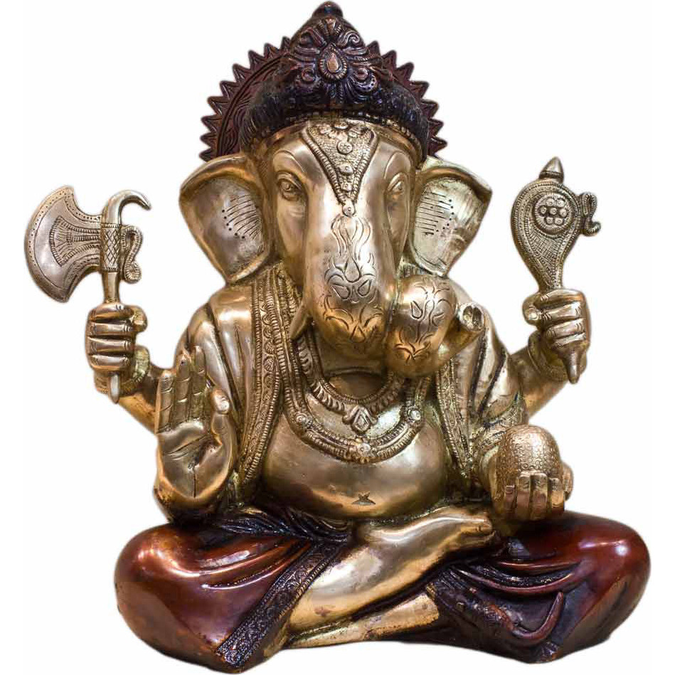 India god elephant lord ganesh murti idol figure religious hinduism statue 12