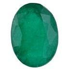 100% Natural Green Onyx Stone Faceted Oval Gemstone Emerald Look Like