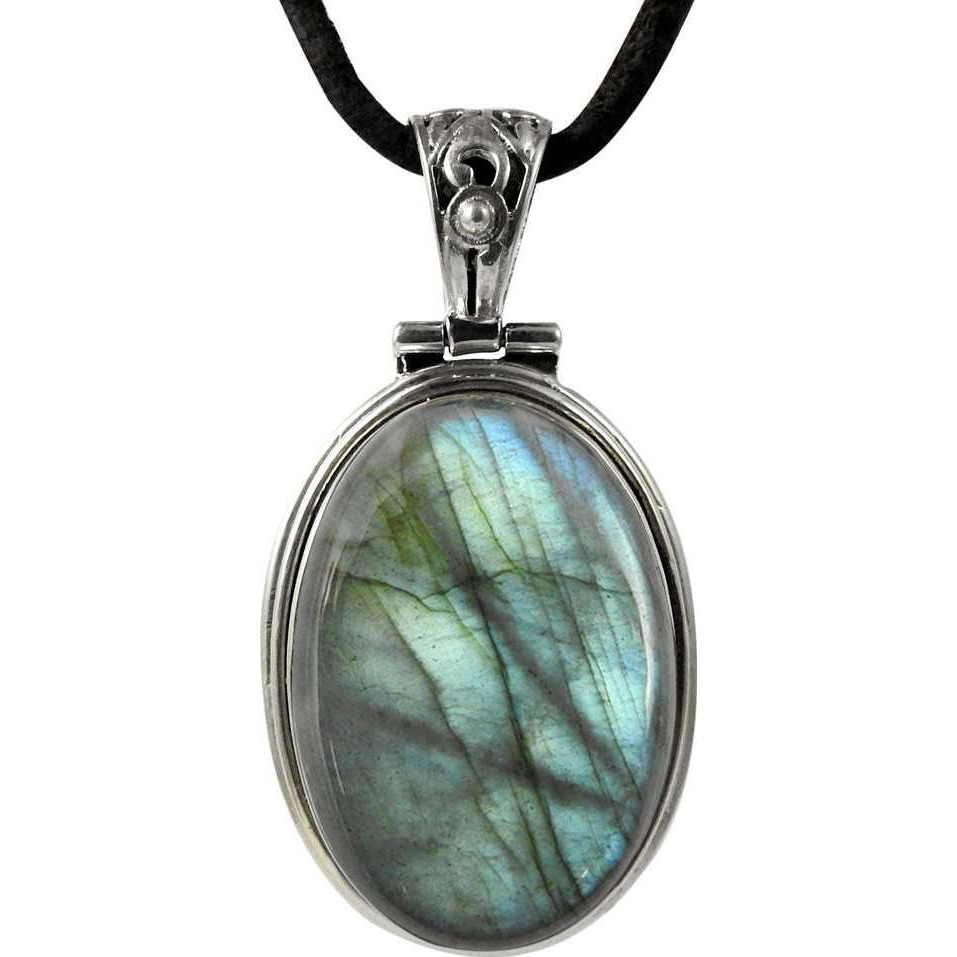 2016 Fashion!! Labradorite 925 Sterling Silver Pendant