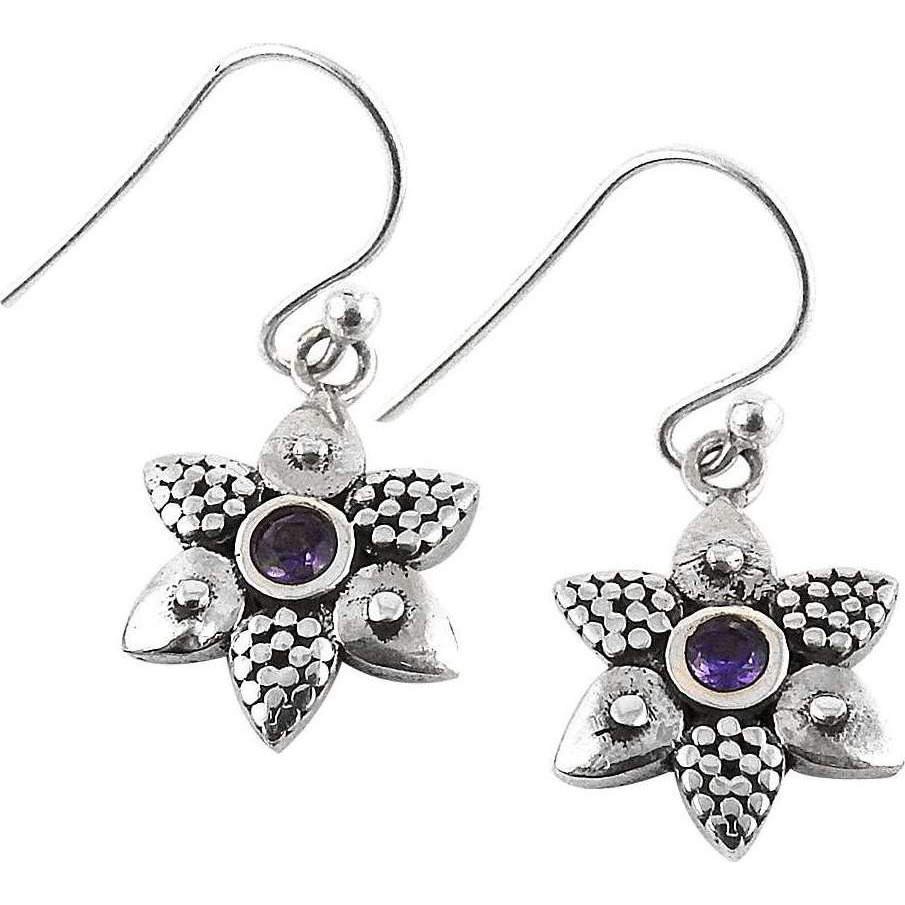Breathtaking!! Amethyst 925 Sterling Silver Earrings