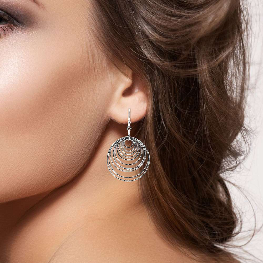 Big Secret Created! 925 Sterling Silver Earrings