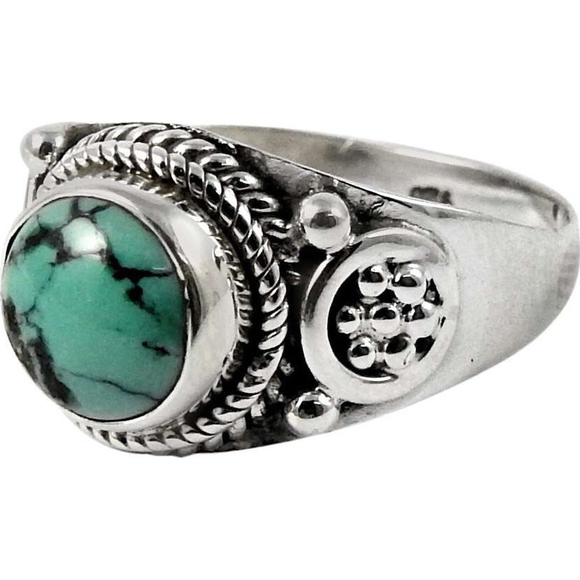 Lavender Dreams! 925 Sterling Silver Turquoise Ring