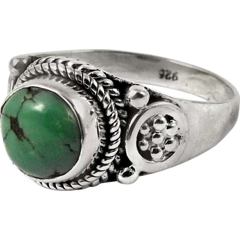 Gorgeous! 925 Sterling Silver Turquoise Ring