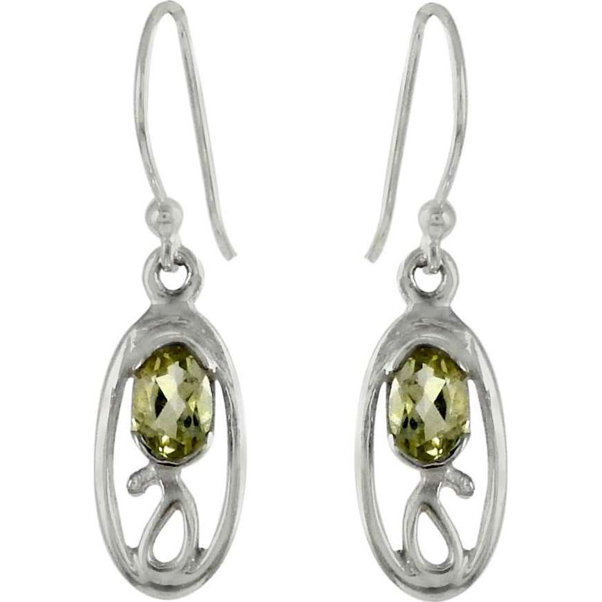 Royal!! Lemon Topaz 925 Sterling Silver Earrings